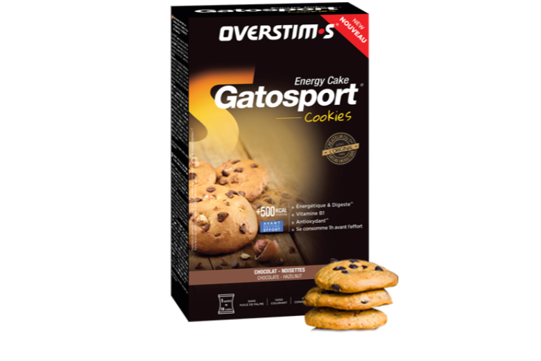 Trakks Nutrition & Care Nutrition Before physical exercise GATOSPORT COOKIES Chocolate Hazelnuts